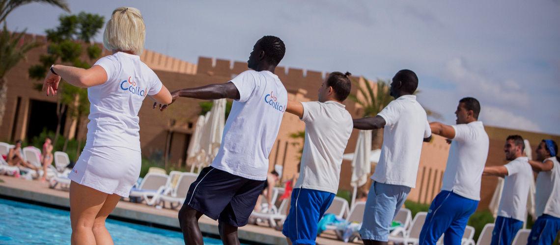 Equipe combine grand sud maroc extension club coralia aqua mirage