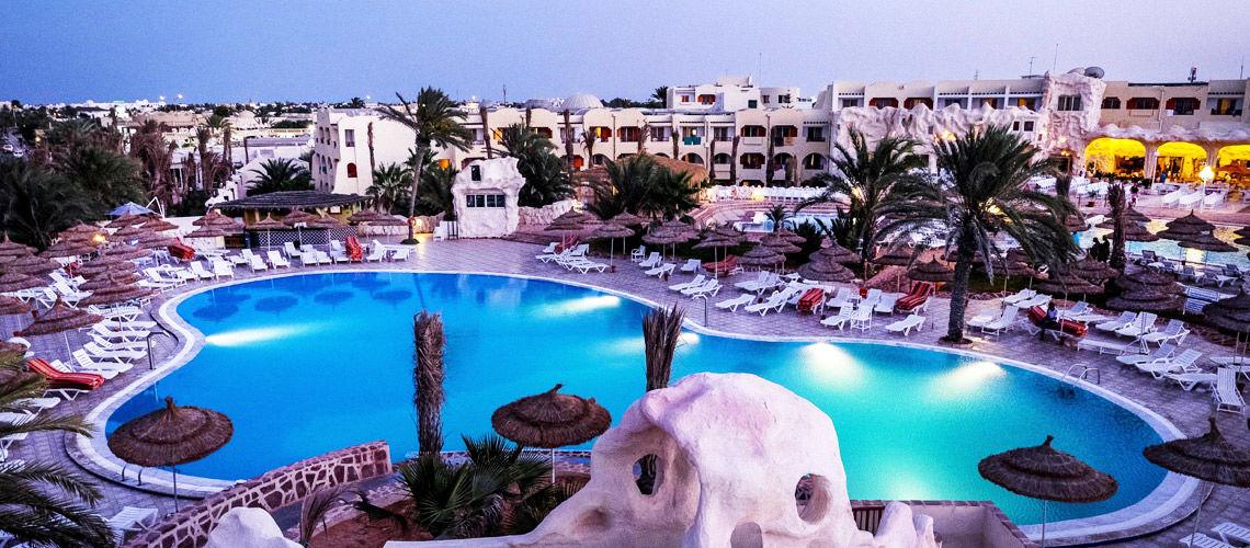 Boutique-hôtel l'Hacienda 4*, Djerba