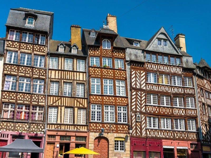 France - Bretagne - Dinan - Dol de Bretagne - Rennes - Sable d'Or - Fréhel - Saint Malo - Normandie - Mont Saint Michel - Autotour Bretagne Côte Nord Mystères Bretons - De Saint Malo à Rennes - Rendez-vous sur place