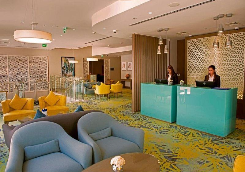 Mena Plaza Hôtel Al Barsha 4 *