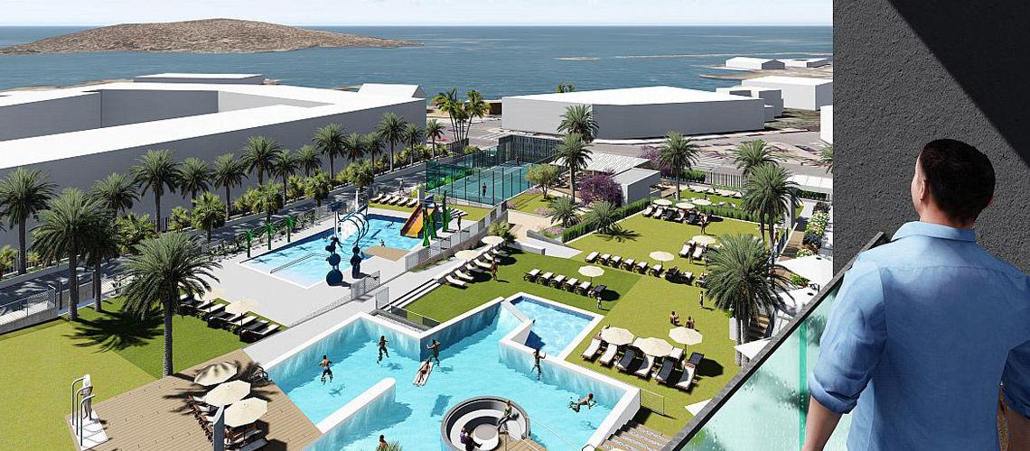 kappa club alegria dos playas 4 puerto de mazarr n murcia costa calida espagne avec. Black Bedroom Furniture Sets. Home Design Ideas