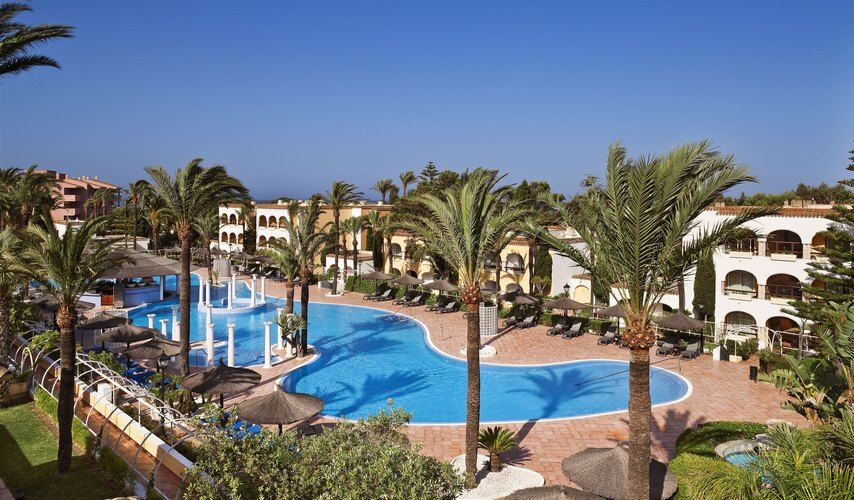 hotel melia atlanterra 4 avec location de voiture zahara de los atunes andalousie espagne. Black Bedroom Furniture Sets. Home Design Ideas