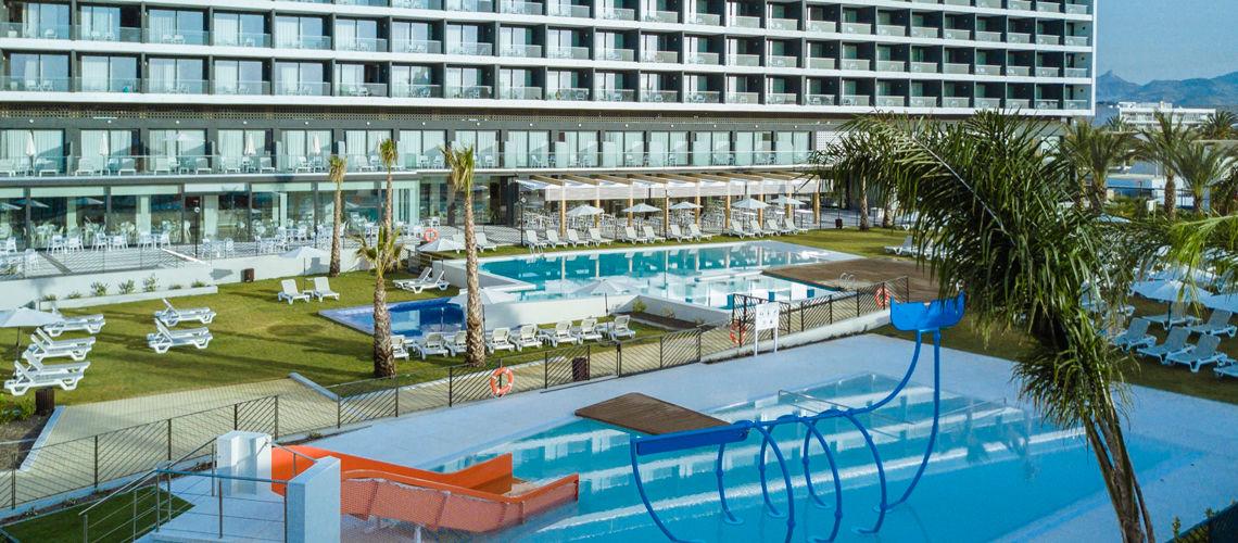 club coralia dos playas 4 puerto de mazarr n murcia costa calida espagne avec voyages. Black Bedroom Furniture Sets. Home Design Ideas
