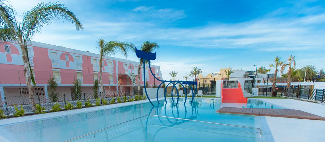 Club coralia dos playas 4 puerto de mazarr n murcia for Club piscine liquidation center