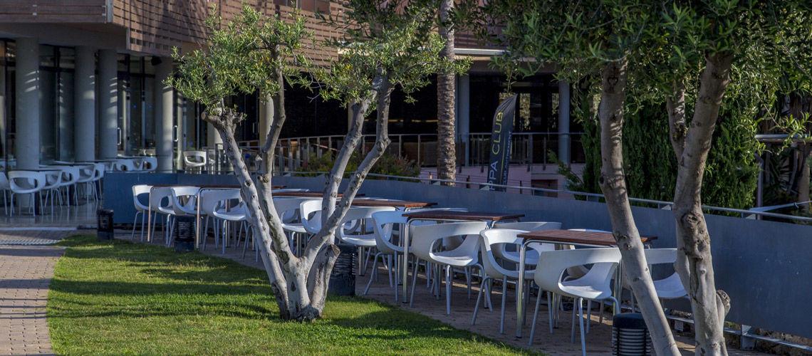 Restaurant club coralia les oliveres