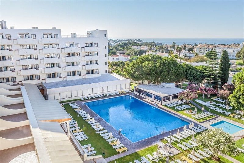 Portugal Algarve Hotel.Albufeira.Sol Piscine