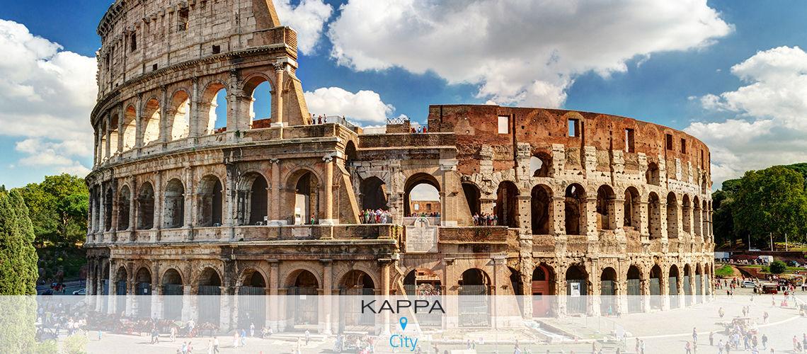 Kappa City Rome- Hôtel Giulio Cesare 4*