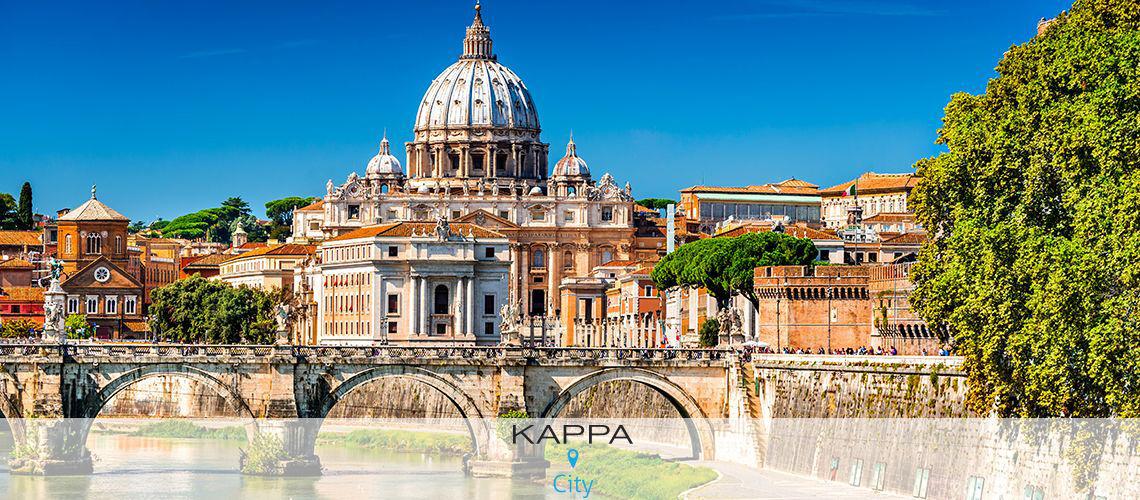 Kappa City Rome- Giulio Cesare 4* - Sans Transport