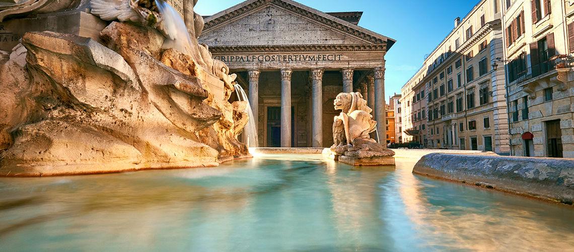fontaine kappa city rome giulio cesare