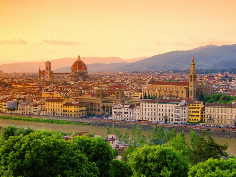 La Route Du Vin En Toscane