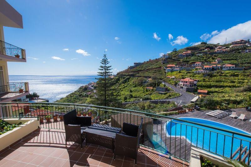 Hotel do Campo - Reception balcony