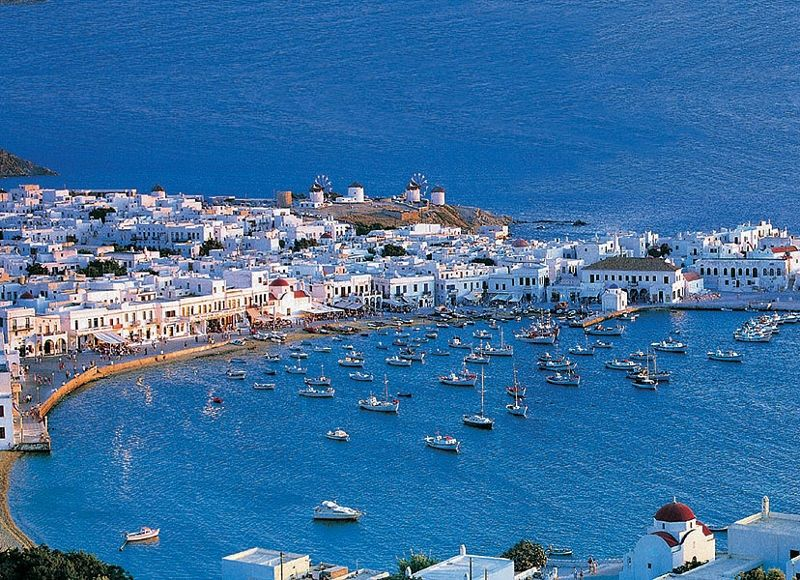 sejour combine iles mykonos santorin 4 mykonos les cyclades iles grecques grece avec. Black Bedroom Furniture Sets. Home Design Ideas