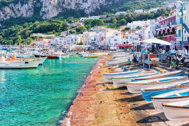 A la Découverte de Rome, Naples et Capri