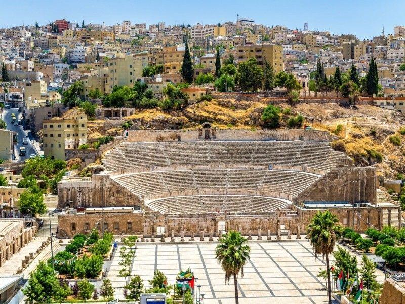 APERCU DE LA JORDANIE  (De Amman à Amman) 4 *