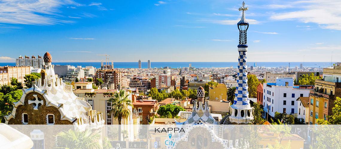 Kappa City Barcelone – Barcelona 1882 4* Terrestre seul