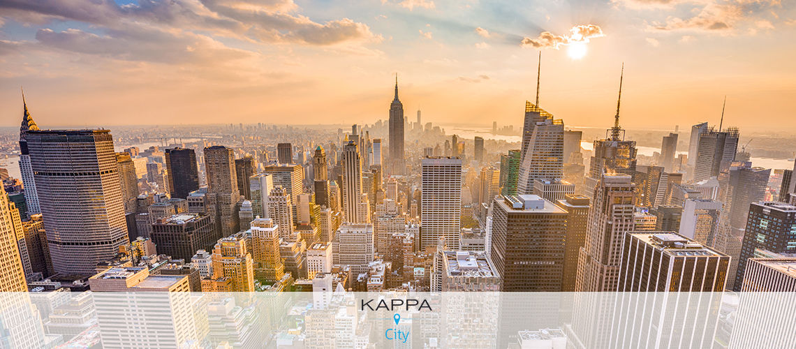 Kappa City The New Yorker 4* - spécial weekend