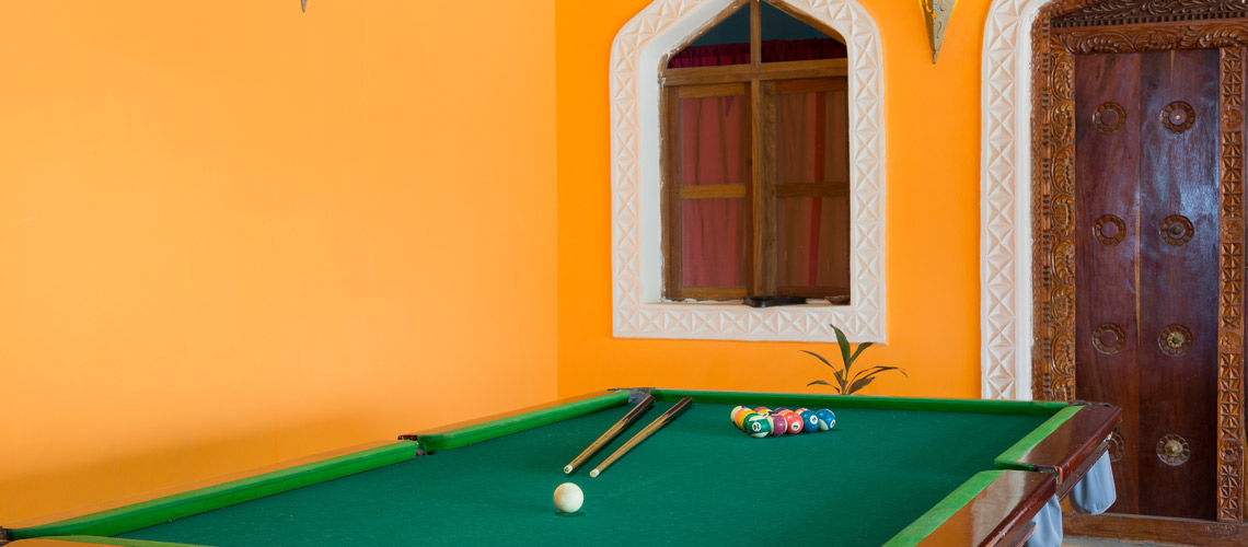 billard kappa club waridi resort beach