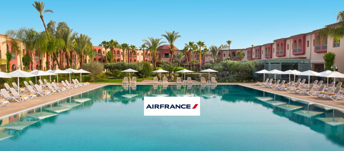 Kappa Club Iberostar Palmeraie Marrakech 4* en partenariat avec Air France