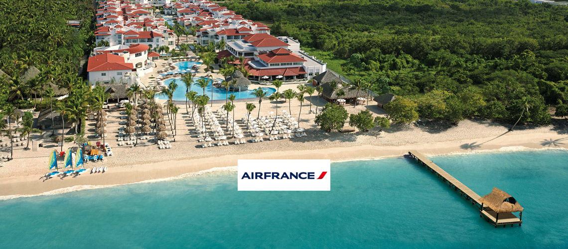 Kappa Club Dreams Dominicus La Romana 5* en partenariat avec Air France