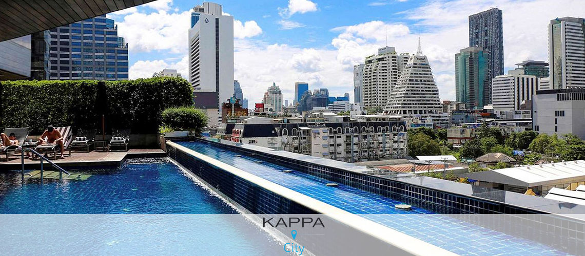 Kappa city pullman bangkok hôtel g 5*