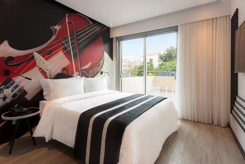 Portugal - Lisbonne - Hôtel HF Fenix Music 3*