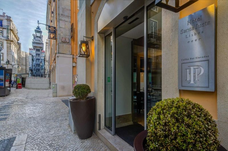 Séjour Portugal - Hotel Santa Justa Lisbonne 4* - sans transport
