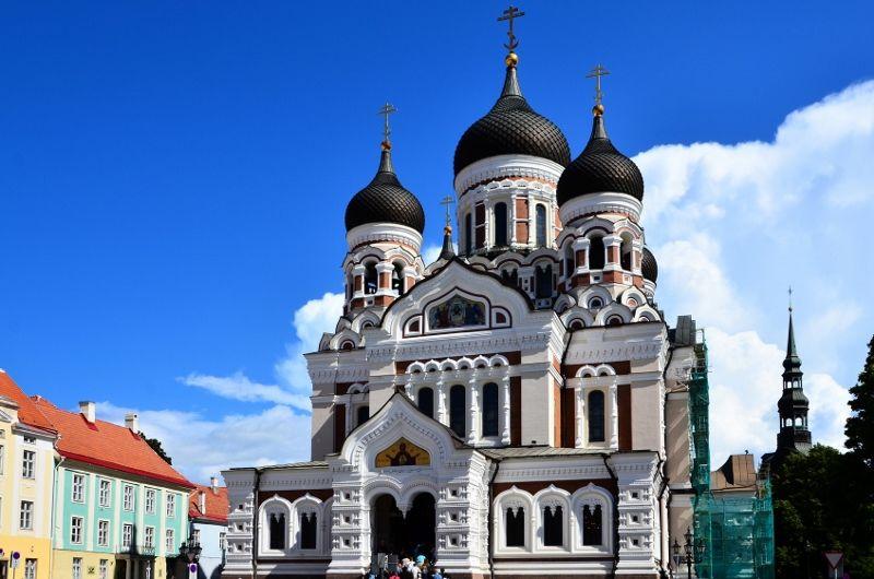 Cathedrale Alexandre Nevsky - Talinn