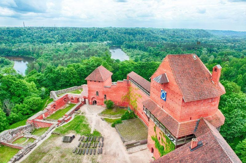 Chateau medieval Turaida