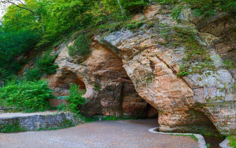 Grotte de Gutmanis - Sigulda
