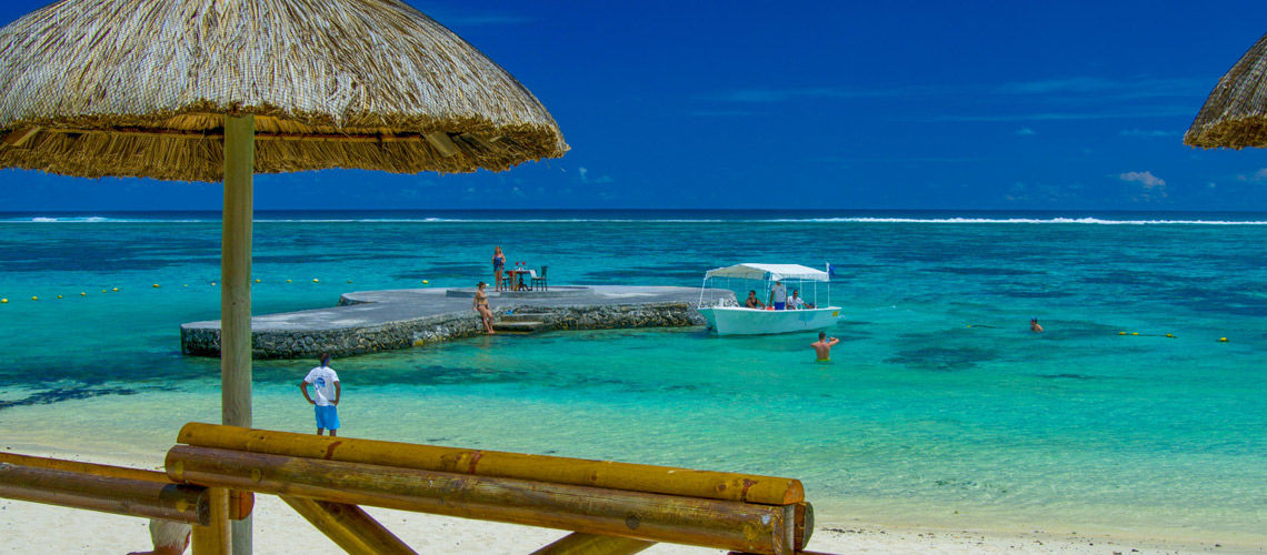 Plage club coralia peninsula bay mauritius