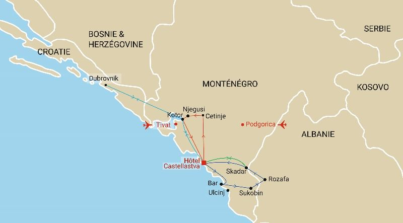 Albanie - Croatie - Monténégro - Circuit Découverte des Balkans