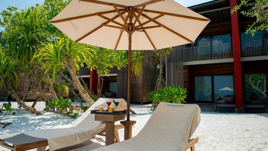 Maldives - Hôtel The Barefoot