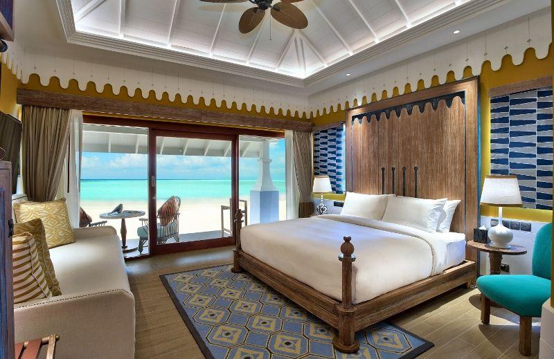 SAii Lagoon Maldives - 2br Beach Villa bedroom 1