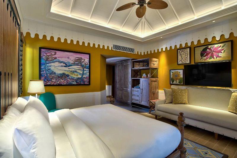 SAii Lagoon Maldives - 2br Beach Villa bedroom 4