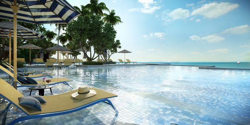 SAii Lagoon Maldives Infinity Pool