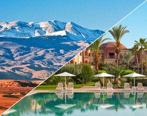 Circuit Le Sud Marocain en 4x4 & Extension Kappa Club Iberostar Palmeraie Marrakech 4*