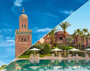 Combiné Villes Impériales & Extension Kappa Club Iberostar Palmeraie Marrakech 4*