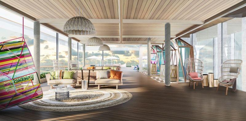 Hard Rock Hotel - Resort Lobby