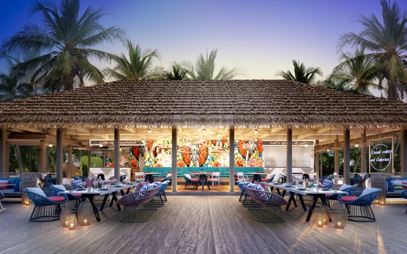 Hard Rock Hotel Maldives - The Elephant and The Butterfly