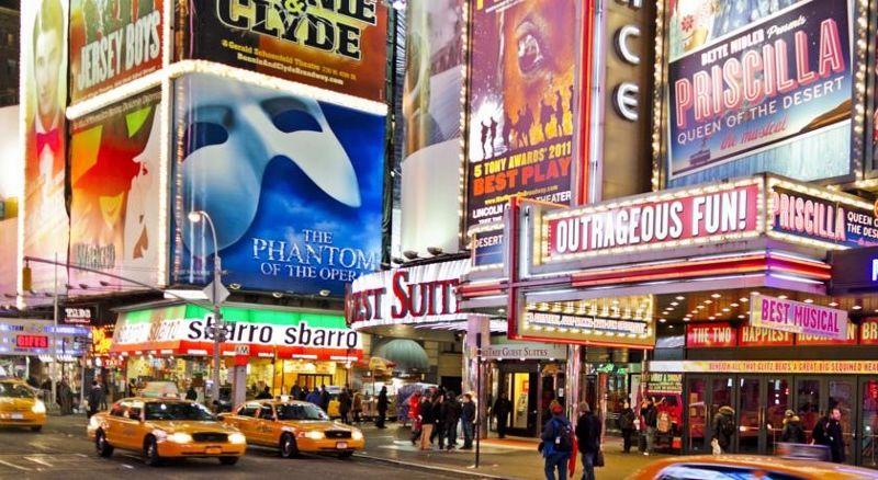 Etats-Unis - New York - Hôtel Ameritania at Times Square