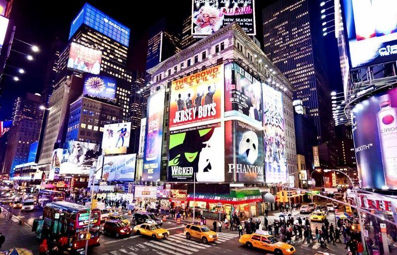 Etats-Unis - New York - Hôtel Crowne Plaza Times Square