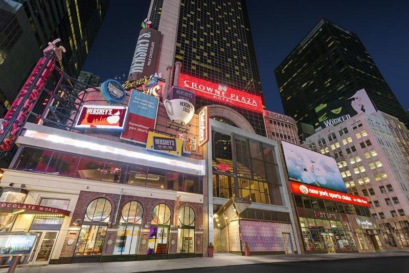 Séjour Est américain - Crowne Plaza Times Square 4* « sans transfert »