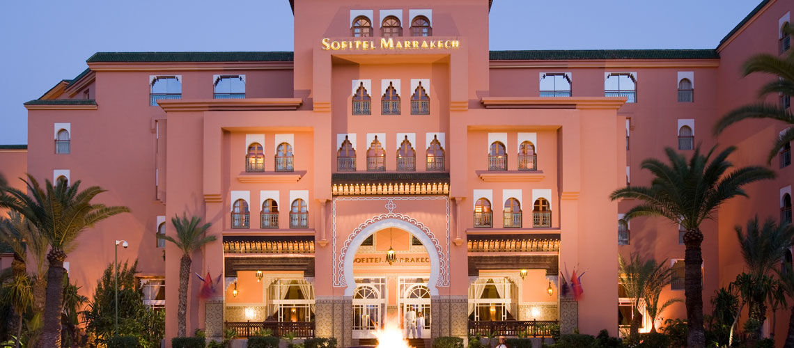 sofitel marrakech lounge spa 5 sejour maroc avec voyages auchan. Black Bedroom Furniture Sets. Home Design Ideas