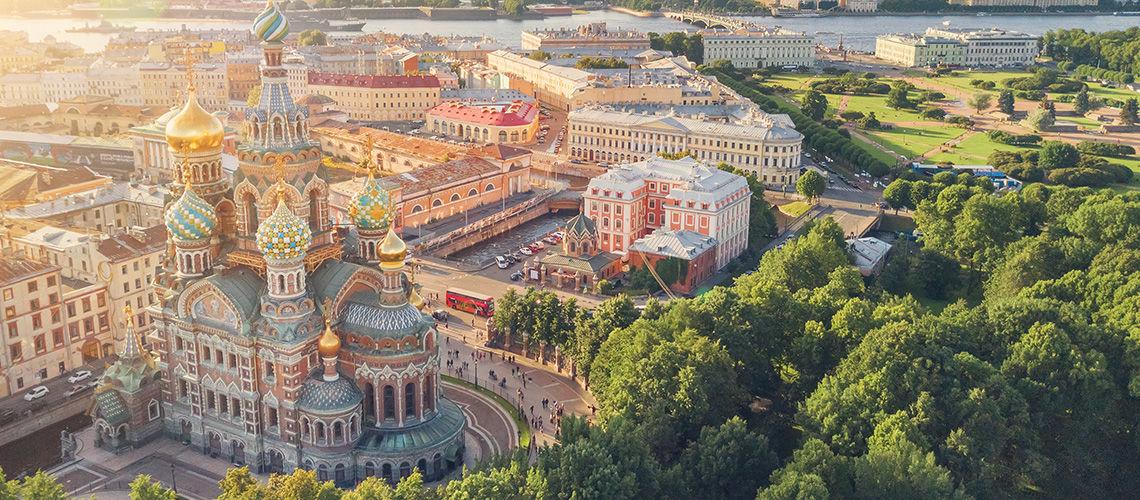 Circuit Au Coeur de Saint Petersbourg 4*