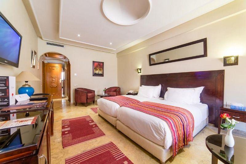 Maroc - Marrakech - Hôtel Les Trois Palmiers 3*