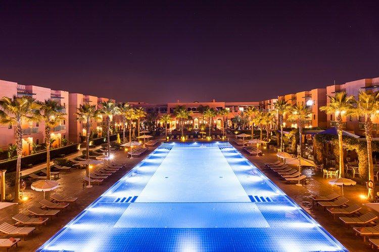 les jardins de l 39 agdal hotel spa 5 marrakech maroc avec voyages leclerc boomerang ref 384682. Black Bedroom Furniture Sets. Home Design Ideas
