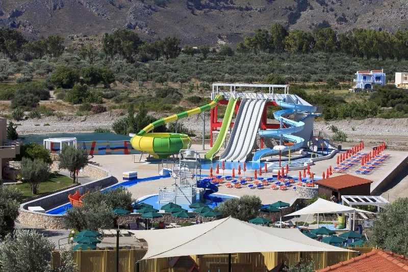 Waterpark general view