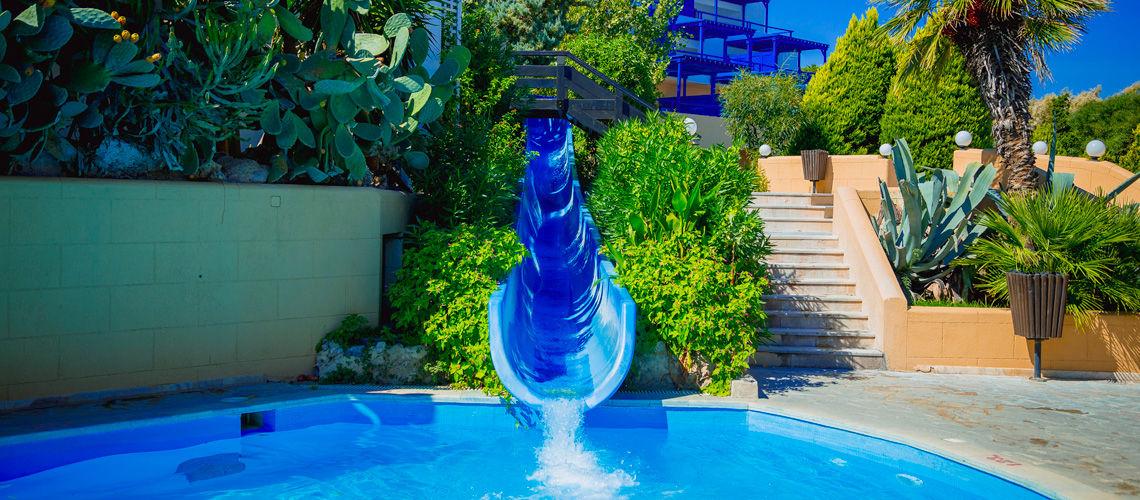 Kappa club aldemar paradise village 5 rhodes grece avec for Club vacances ardeche avec piscine