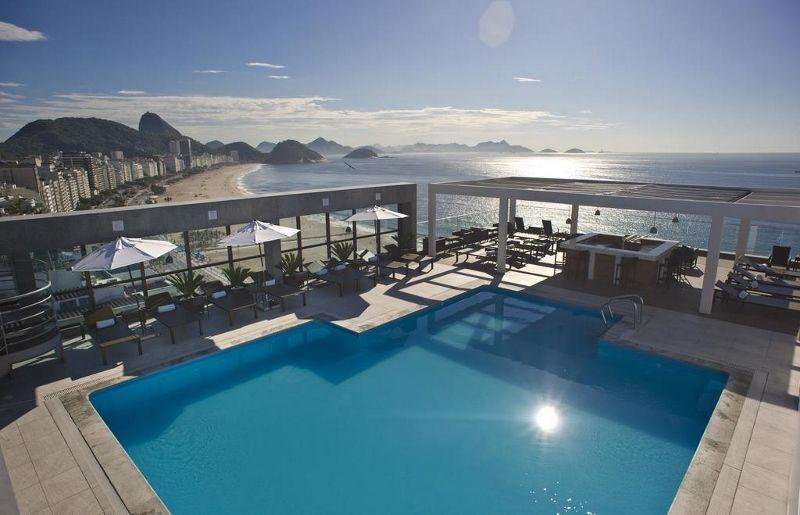 Brésil - Rio de Janeiro - Hôtel Pestana Rio Atlântica 4*