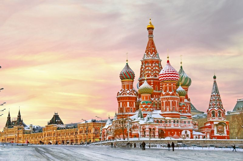 Weekend Moscou au Complet
